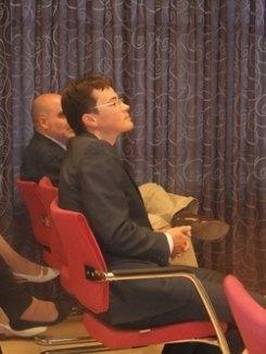 D. Evgeny Evdokimov, Segundo Secretario de Asuntos Políticos de la Embajada la Federación de Rusia en España.