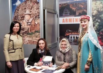 Stand de Armenia, Fitur 2017