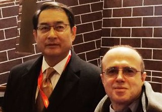The president of OHRE with His Excellency Mr. Lyu Fan, Ambassador of the People's Republic of China