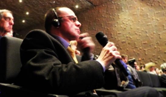 Intervención del presidente de OHRE, Fernando Moragón